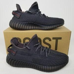 adidas Yeezy Boost 350 V2 Shoes Triple Black 9 NR